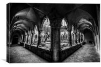 Cloisters Here, Cloisters There, Cloisters Everyw, Canvas Print