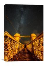 Bridge to the Stars, Canvas Print