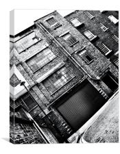Urban architecture, Canvas Print