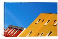 Architecture, Ibiza Town. , Canvas Print