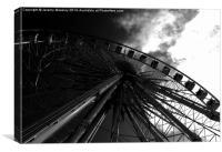The Brighton Wheel. , Canvas Print
