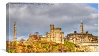 Edinburgh Calton Hill, Canvas Print