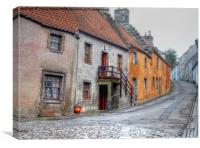 The Royal Burgh of Culross, Canvas Print
