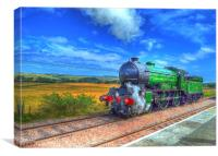 Steam Train, Canvas Print