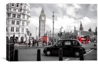 Iconic London, Canvas Print