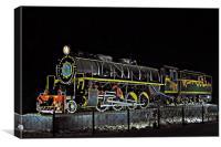 MAWD 1798 steam locomotive, Canvas Print