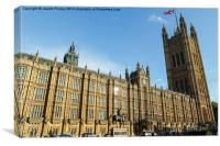Westminster Palace 2, Canvas Print