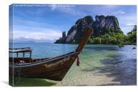 Thai Paradise, Canvas Print