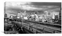 Bangkok Skyline, Canvas Print