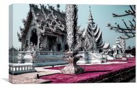 White Temple (Wat Rong Khun), Canvas Print