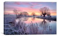 Pastel Sunrise, Canvas Print