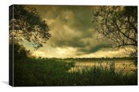 Gora Lake, Canvas Print