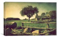 Lost farmstead, Canvas Print