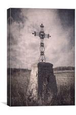On the crossroads, Canvas Print