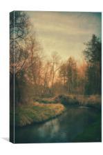 Along the river #6, Canvas Print