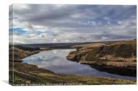 Winscar Reservoir, Dunford Bridge, Canvas Print