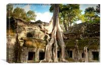 Ta Prohm Cambodia, Canvas Print