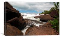 Tatai Waterfalls, Cambodia, Canvas Print