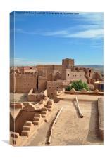 Kasbah, Morocco, Canvas Print
