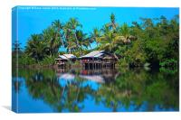 Reflections of Cambodia, Canvas Print