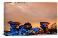 Planet Rock, Canvas Print