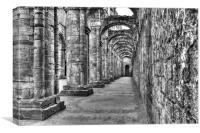 The Corridor, Canvas Print