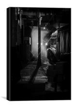 The Night Train Awaits, Canvas Print