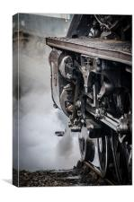 Steam Power - Ready for the Off, Canvas Print