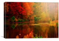 Autumn Reflected, Canvas Print