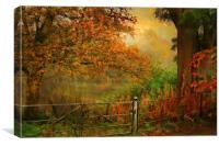 Autumn On My Mind , Canvas Print
