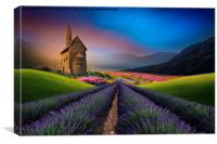 surrounded by beauty , Canvas Print