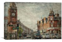 crouch end North london, Canvas Print