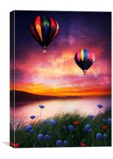 Lets fly lets fly away , Canvas Print