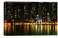 Dubai Cityscape, Canvas Print
