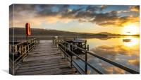 Loch Lomond sunrise, Canvas Print