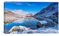 Winter blue, Canvas Print