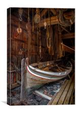 The Old Boatshed, Canvas Print