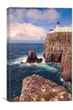 Neist Point Lighthouse , Canvas Print