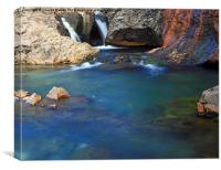 The Fairy Pools - Isle of Skye, Canvas Print