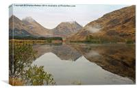Glencoe Mountains , Canvas Print