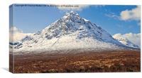The Buachaille Etive Mor - Glencoe, Canvas Print