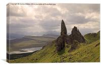The old man of Storr. Isle of Skye , Canvas Print