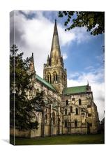 CHICHESTER CATHEDRAL , Canvas Print