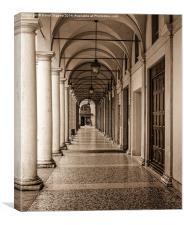 Italian Archway, Canvas Print