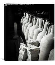 Pompei Artifacts – Storage, Canvas Print