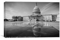 Capitol Hill, Canvas Print
