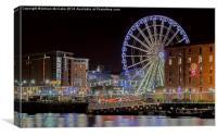 Iconic Liverpool, Canvas Print