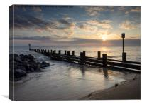Hopton Sunrise, Canvas Print