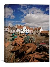 Pittenweem., Canvas Print
