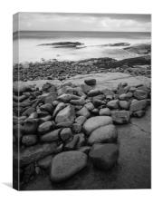 Cullernose Point Beach, Canvas Print